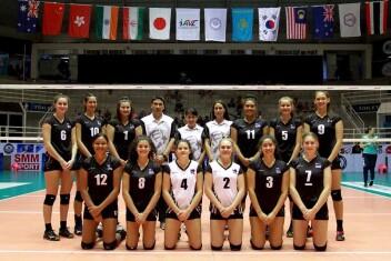 Kalani Ruri - New Zealand Youth Women's Volleyball Team