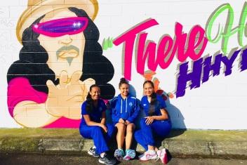 Puaawai Bennett - Rotorua U17 Rep Squad competes at the 2018 Netball NZ Nationals