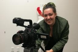 Kayla Hunia - Budding Filmaker