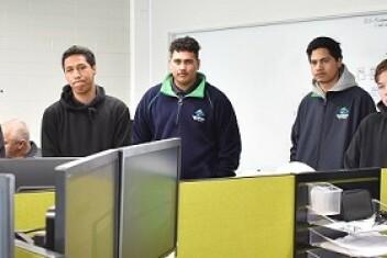 Tarawera High School Students Visit TOPP1 Power Plant