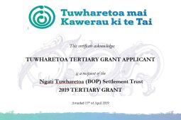 2019 Tertiary Grant Award Ceremony